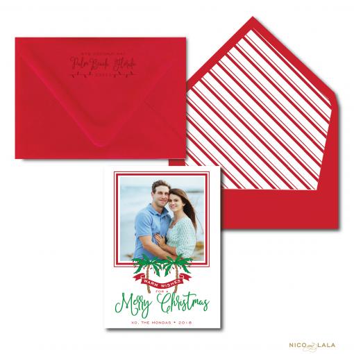 Palm Beach Christmas Card