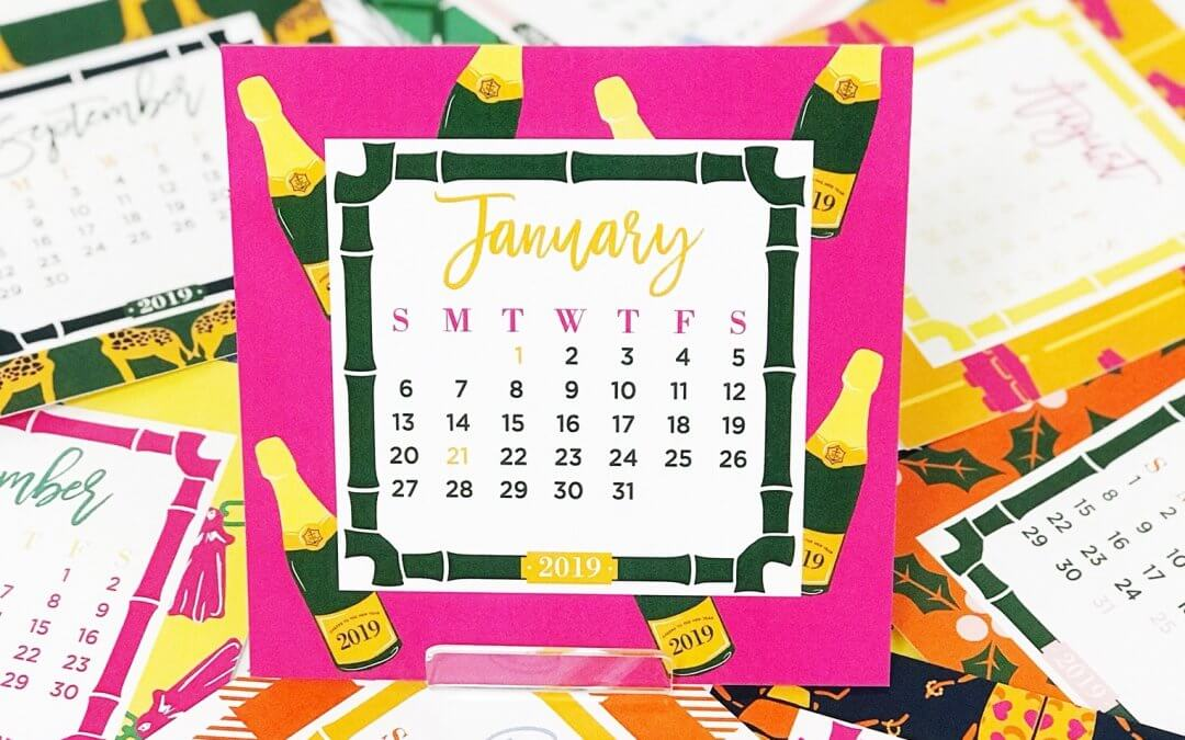 Our 2019 Desk Calendar Is Here!
