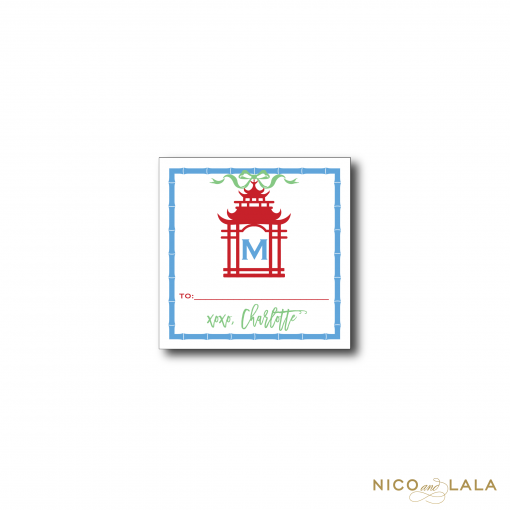 Pagoda Gift Stickers