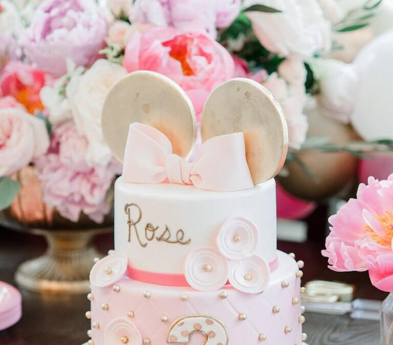 Chic Minnie Mouse Birthday
