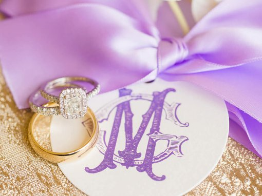 Traditional Lavender Texas Wedding