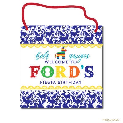 Fiesta Birthday Door Sign