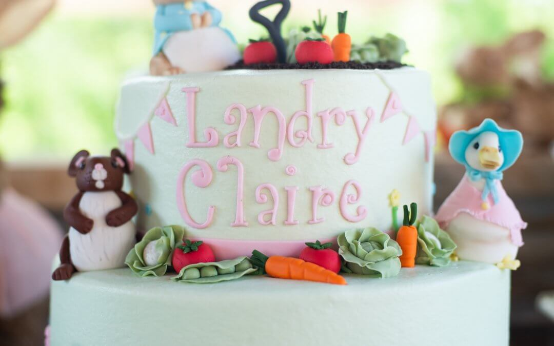 Landry Claire's Peter Rabbit Birthday