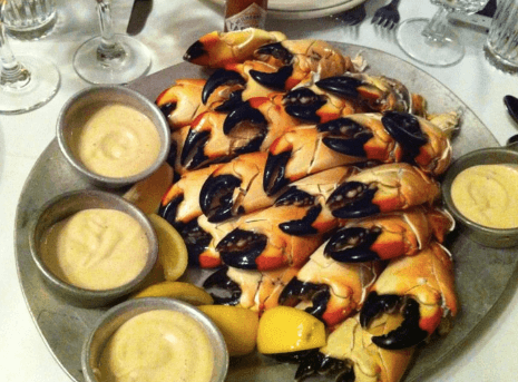 Stone Crab from Joe's