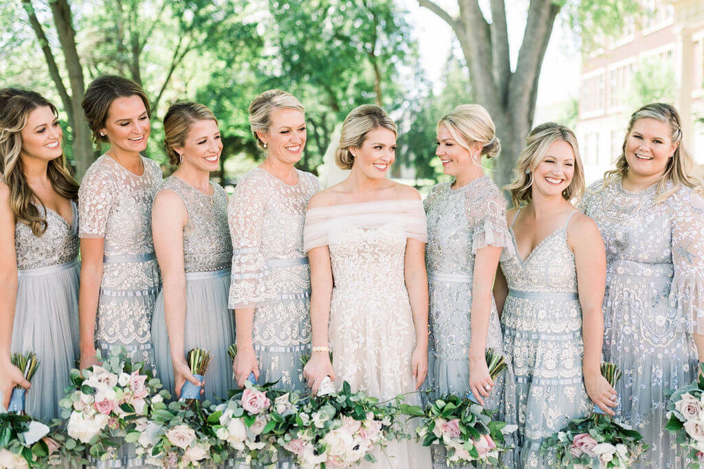 Needle and Thread Bridesmaid dresses