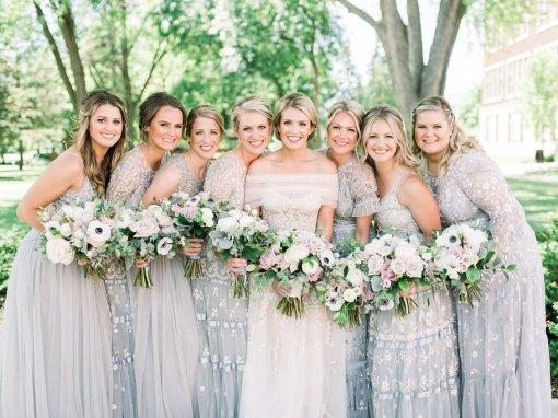 Elegant French Blue Country Club Wedding