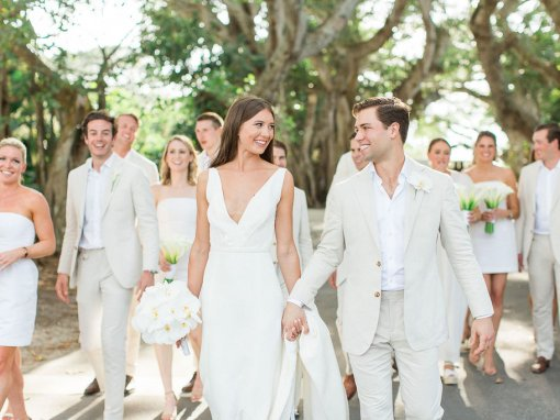 All White Wedding in Boca Grande