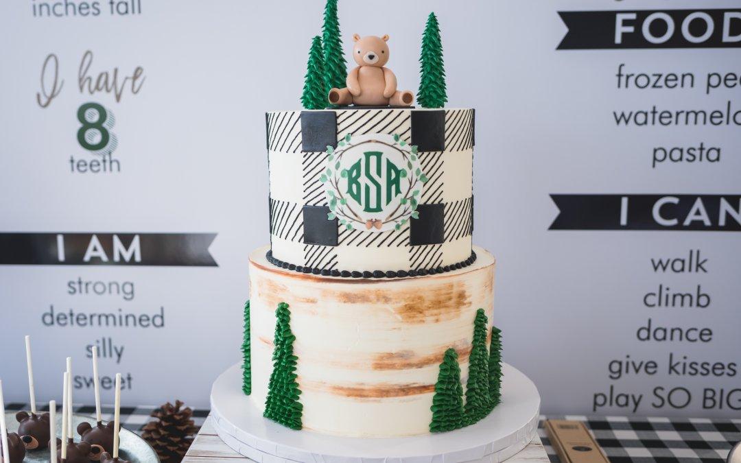 Bear's Wild One First Birthday